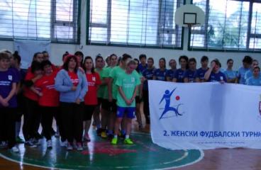Организован женски фудбалски турнир