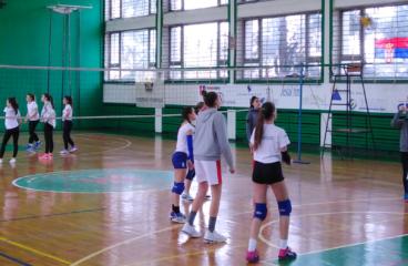 Општинско школско такмичење у одбојци за  децу
